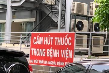 Bệnh viện Việt Đức: Mạnh tay với người hút thuốc