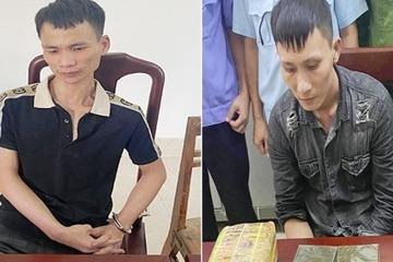 Nghệ An: Bắt 2 đối tượng, thu giữ 2 bánh heroin và 10 kg ma túy đá