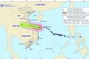 Bão số 5 áp sát bờ biển Quảng Bình - Quảng Nam, gió giật cấp 12