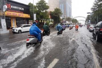 Bắc Trung Bộ mưa lớn sau bão số 5