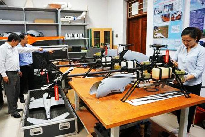 """Trực thăng không người lái """"made in Vietnam"""" đã sẵn sàng thương mại hóa"""