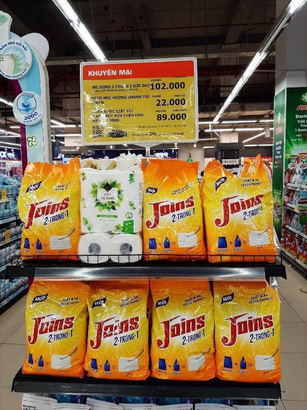 Masan ra mắt bột giặt Joins 2 trong 1, tạo sức bật mới cho ngành hàng tỷ USD