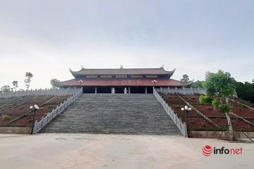 Chùa trăm tỉ ở Nghệ An xây trái phép bất chấp phạt chồng phạt: Huyện làm chủ đầu tư!?
