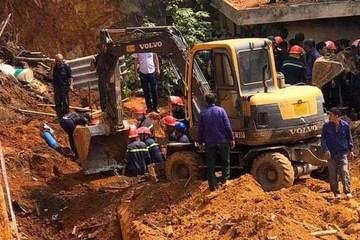 Khởi tố 1 bị can vụ sập taluy khiến 4 người chết ở Việt Trì