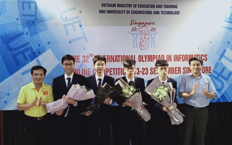 Việt Nam đoạt Huy chương Vàng Olympic Tin học quốc tế 2020