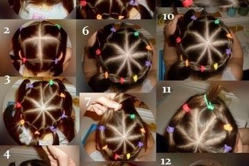 """Tết tóc cho con gái đúng """"trend"""" chơi Trung thu"""