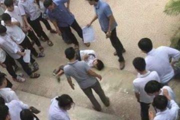 Hà Nội: Trèo lan can, một học sinh cấp trường 2 Đống Đa ngã phải nhập viện