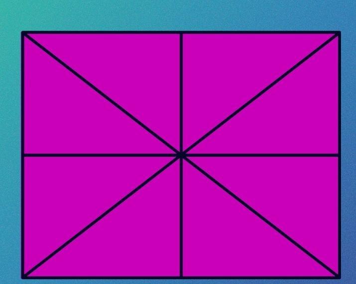 câu đố đếm số hình tam giác