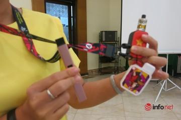 Bóc trần chiêu thức kích cầugiới trẻ sử dụng thuốc lá thế hệ mới