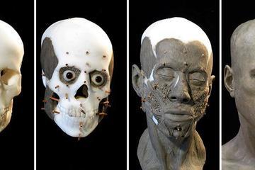 Cận cảnh quá trình tái hiện khuôn mặt nữ sinh sống 9.000 năm trước