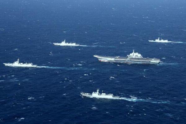 Quân đội Trung Quốc tiếp tục tập trận trên Biển Đông