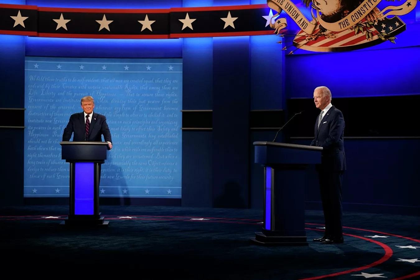 Nhìn lại màn tranh luận đầu tiên 'cực gắt' giữa Trump và Biden