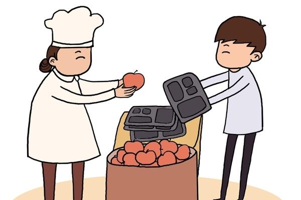 Chiêu mới chống lãng phí thức ăn trong trường học Trung Quốc
