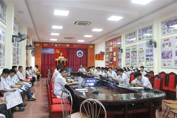 Bệnh viện đa khoa tỉnh Hà Tĩnh thực hiện công tác PCTHTL