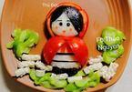 Mẹ đảm Sài Gòn làm cơm bento đẹp như tranh vẽ cho con gái