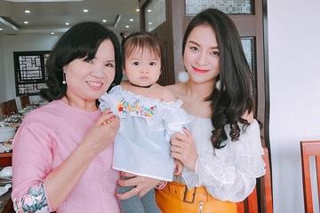 Diễn viên Ngọc Anh: 'Mẹ chồng thương tôi, từng giúp tắm gội khi bụng mang dạ chửa'