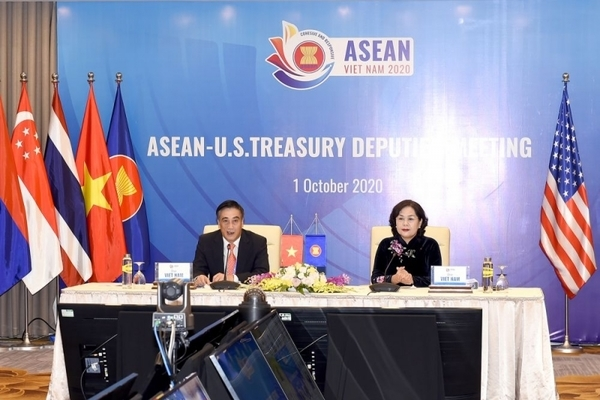 Đối thoại hợp tác tài chính - ngân hàng giữa ASEAN và Mỹ