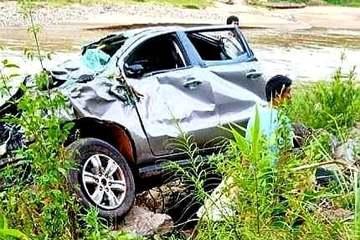 Nghệ An: Thầy hiệu trưởng, hiệu phó và 1 cô giáo gặp nạn khi ô tô lao xuống vực sâu