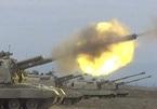 BQPAzerbaijan công bố video pháo kích vào thiết bị quân sự Armenia