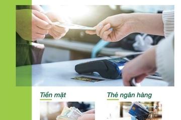 Người bệnh có thể dùng ví điện tử, thẻ ngân hàng để thanh toán viện phí