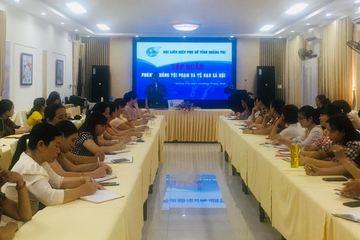 Quảng Trị: Tập huấn công tác phòng chống tội phạm mua bán người cho cán bộ Hội phụ nữ