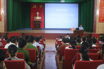 Hải Hậu, Nam Định: Tập huấn kỹ năng phòng, chống mua bán người cho cán bộ cấp cơ sở