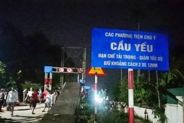 Danh tính 5 nạn nhân tử vong trong vụ ô tô va chạm xe máy rồi lao xuống sông ở Nghệ An