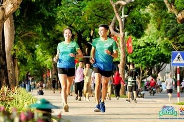 """""""Đón bình minh - chào bình thường mới"""" cùng VPBank Hanoi Mathon ASEAN 2020"""