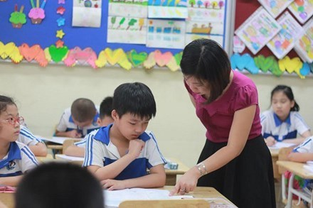 Giáo viên không được chê bai, không được giao bài tập về nhà cho học sinh lớp 1