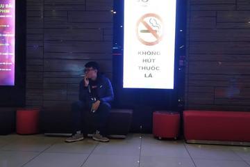 Khó cấm hút thuốc nơi công cộng