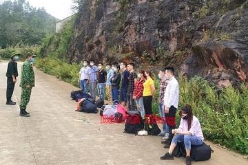 Phát hiện 143 người nhập cảnh trái phép qua Hà Giang, đưa đi cách ly