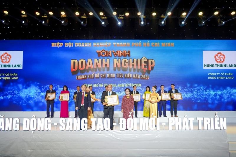 """Tập đoàn Hưng Thịnh """"thắng lớn"""" với hàng loạt giải thưởng"""