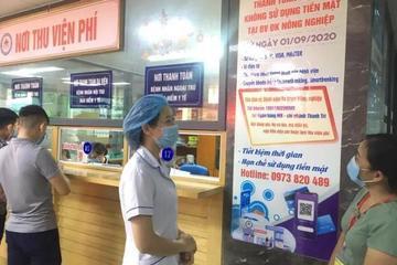 Bệnh viện Đa khoa Ninh Bình triển khai thanh toán viện phí không dùng tiền mặt