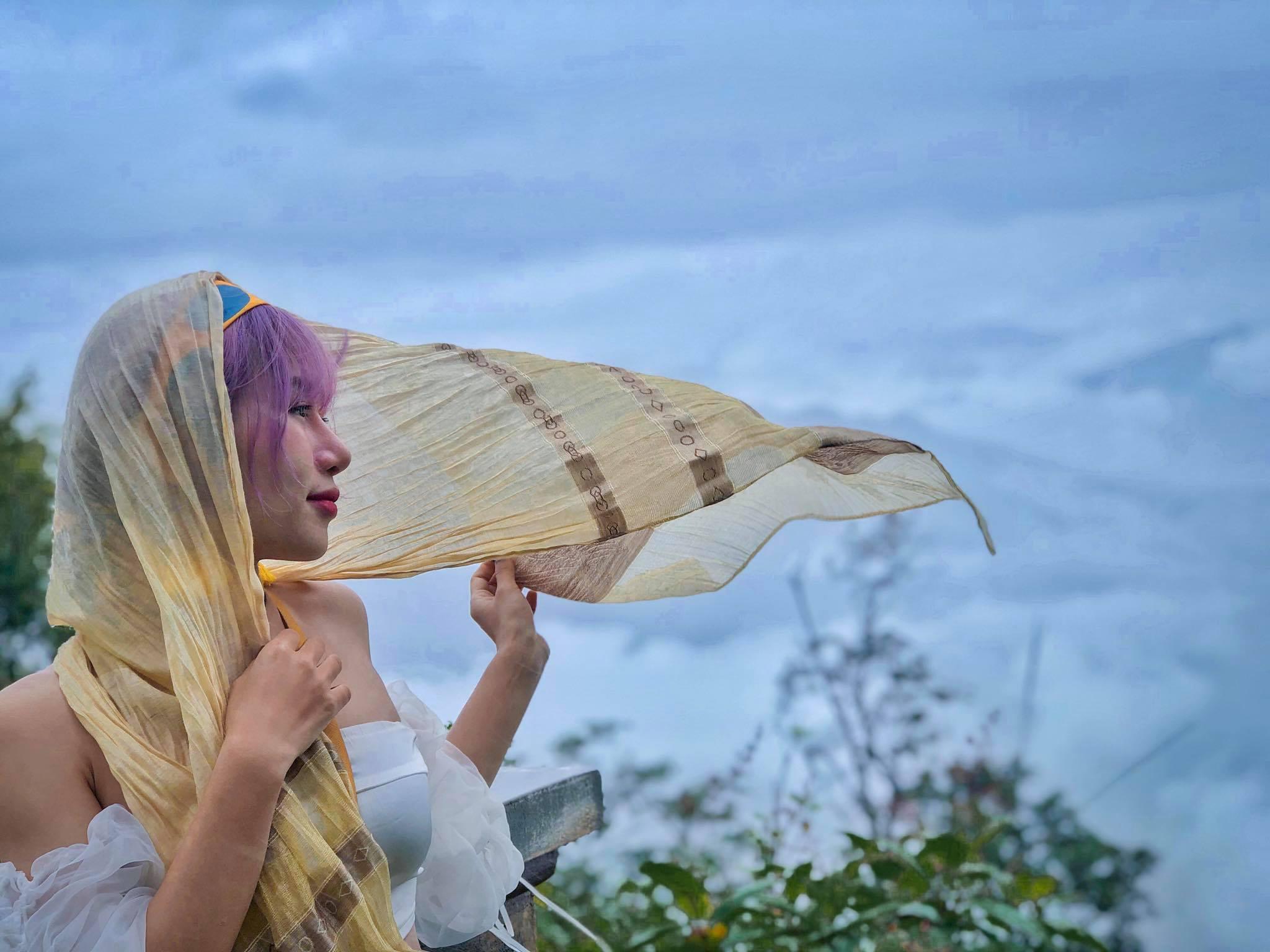 Mùa lúa chín Tây Bắc tươi mới qua bộ ảnh của cô gái xinh đẹp