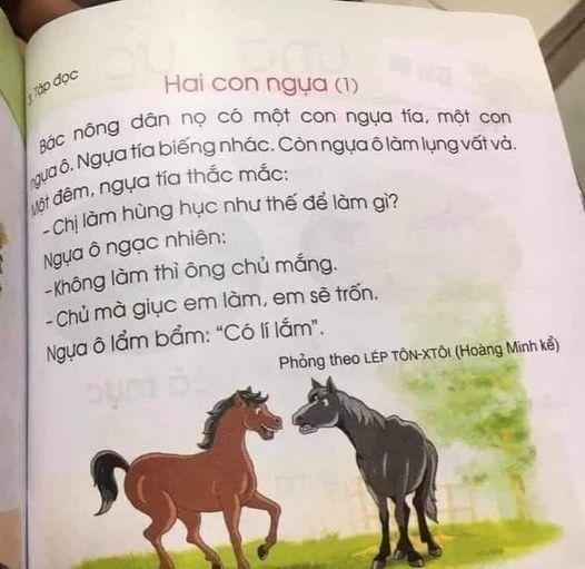 Bài học trong SGK lớp 1 đang 'tiêm vào đầu trẻ thơ sự mách qué, khôn lỏi…'