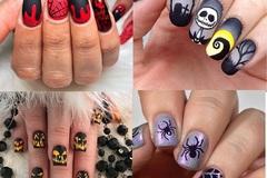 15 mẫu sơn móng tay độc đáo cho ngày Halloween