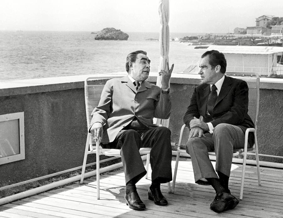 Ảnh hiếm về lãnh đạo Mỹ và Anh qua ống kính các nhiếp ảnh gia Liên Xô