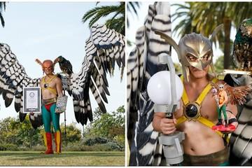 Kỷ lục thế giới Guiness kỳ quặc về trang phục hóa trang siêu anh hùng