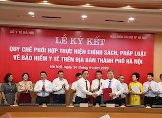 Hà Nội: Liên ngành BHXH, Y tế phối hợp thực hiện chính sách, pháp luật BHYT