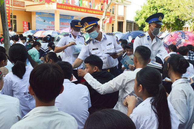 Cảnh sát biển,Luật cảnh sát biển VN