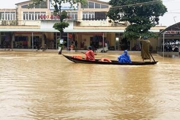 Quảng Nam: Vỡ đập thủy lợi Cát Bầu, đang thống kê thiệt hại