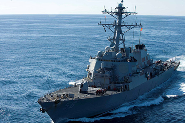 Tàu chiến Mỹ - Nhật cùng có mặt ở Biển Đông, Trung Quốc nói gì?