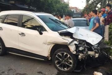 Tạm giữ hình sự lái xe tông hàng loạt ô tô và xe máy làm nhiều người thương vong