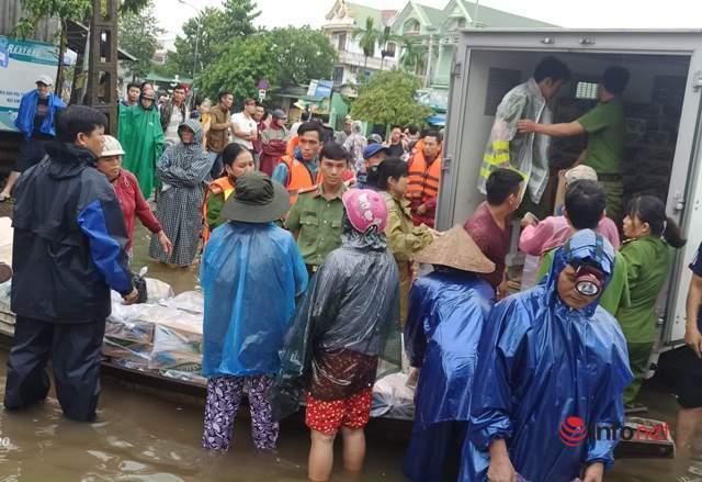 mưa lũ,ngập lụt,Thừa Thiên Huế,ngập nhà,thiệt hại