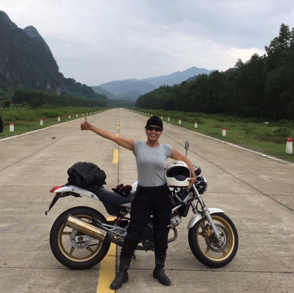 Người phụ nữHà Thành U60 vẫn 'phượt' không ngừng nghỉ