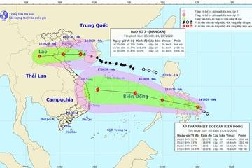 Bão số 7 tiến vào các tỉnh Thái Bình - Nghệ An, gió giật cấp 11