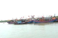 Bão số 7 tiến vào đất liền Thái Bình - Nghệ An và suy yếu dần