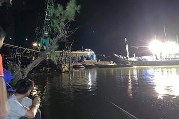 Quảng Nam: Tìm thấy thi thể nam thanh niên bị chìm tàu 4 ngày trước