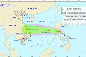 Mưa lớn sau bão số 7, áp thấp nhiệt đới vào Biển Đông