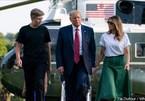Con trai út của ông Trump cũng từng dương tính với Covid-19